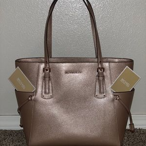 Rose gold Micheal Kors Tote